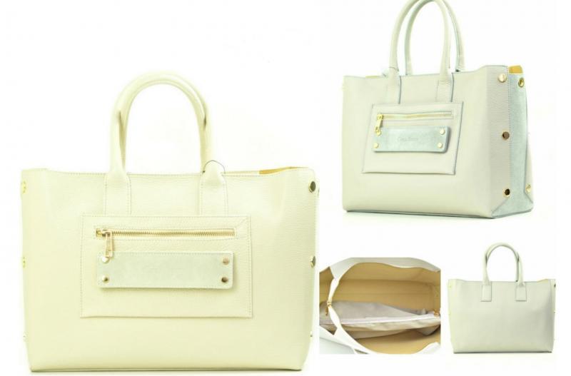 Фото Женские сумки, Модная классика. Кожа и замша Сумка из кожи Carla Berry