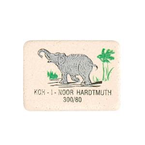 Ластик KOH-I-NOOR ELEPHANT 300/80 каучук 25х20х6 мм