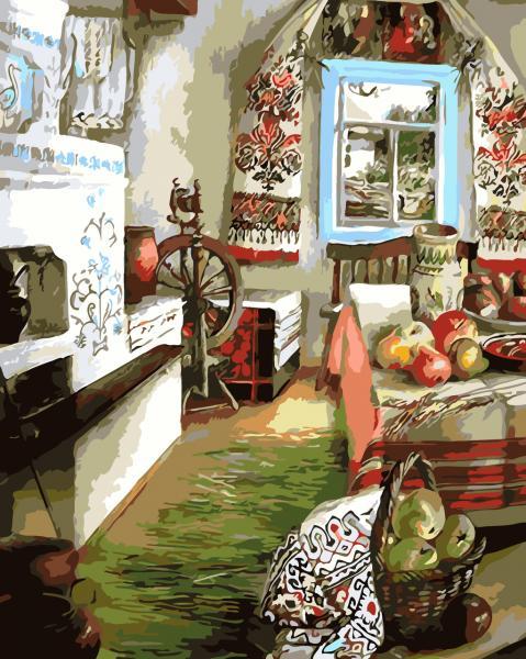 Фото Картины на холсте по номерам, Моя Україна AS 0107
