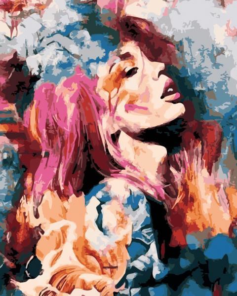 Фото Картины на холсте по номерам, Романтические картины. Люди AS 0197