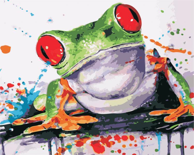 Фото Картины на холсте по номерам, Животные. Птицы. Рыбы... AS 0411