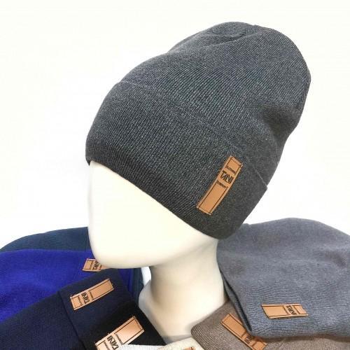 Модная шапка ТЕРМОФЛИС 54/56 см