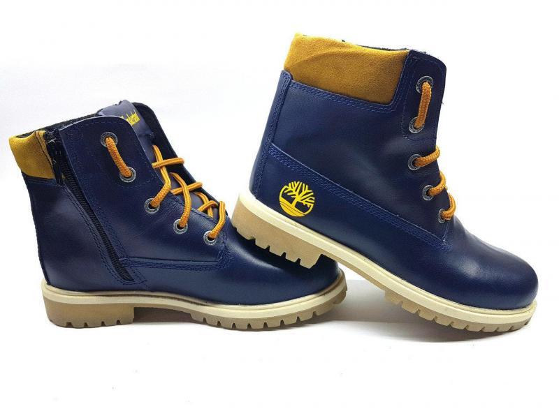 Подростковые осенне-весенние ботинки Timberland. Украина