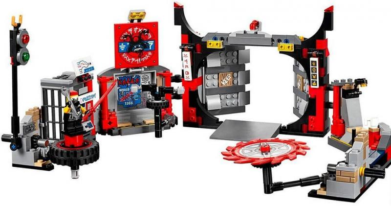 Фото Конструкторы, Конструкторы типа «Лего», Ниндзя Го (Ninja Go) 06075 Конструктор Lepin Ниндзяго Штаб-квартира сыновей Гармадона (аналог Lego Ninjago 70640)его 70642 ниндзяго