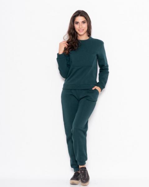 Фото  Спортивные костюмы ISSA PLUS 11105  S зеленый