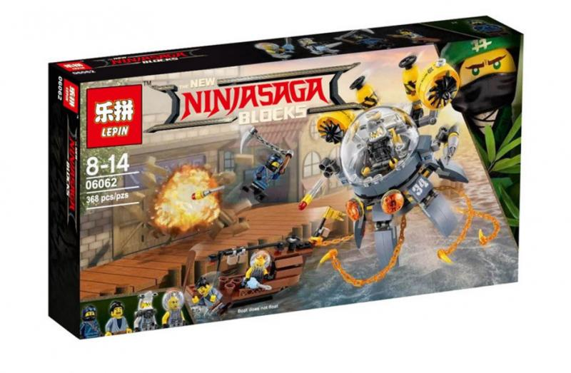 Фото Конструкторы, Конструкторы типа «Лего», Ниндзя Го (Ninja Go) 10725/06062 Конструктор Ninjago Movie Bela/Lepin (аналог Lego 70610)