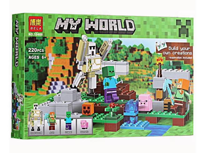 Фото Конструкторы, Конструкторы типа «Лего», Майнкрафт (minecraft) Конструктор Minecraft