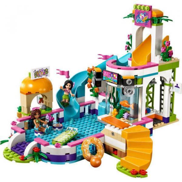 Фото Конструкторы, Конструкторы типа «Лего», Конструкторы для девочек (эльфы, friends, paradise) 01013 Конструктор Lepin Летний бассейн Хартлэйк (аналог Lego Friends 41313), 589 дет.