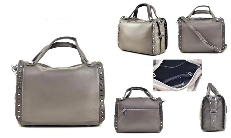 Фото Женские сумки, Модная классика. Кожа и замша Сумка из натуральной кожи Polina&Eiterou