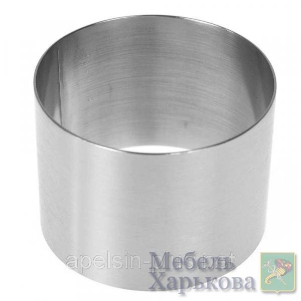 Кондитерское кольцо 20 см высота 10 см нержавеющая сталь - Матрасы и наматрасники в Харькове