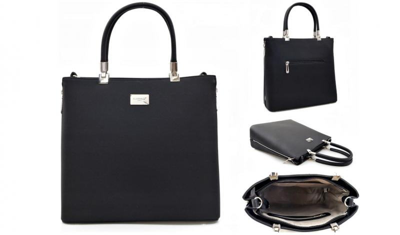 Фото Женские сумки, Модная классика. Экокожа и комбинированные  Сумка из экокожи Flora&Co