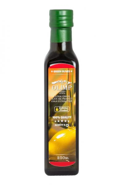 Оливковое масло EXTRA VIRGIN OLIVE OIL Olimp Red Label 250 мл.