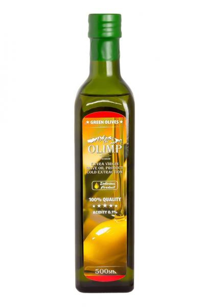 Оливковое масло EXTRA VIRGIN OLIVE OIL Olimp Red Label 500 мл.