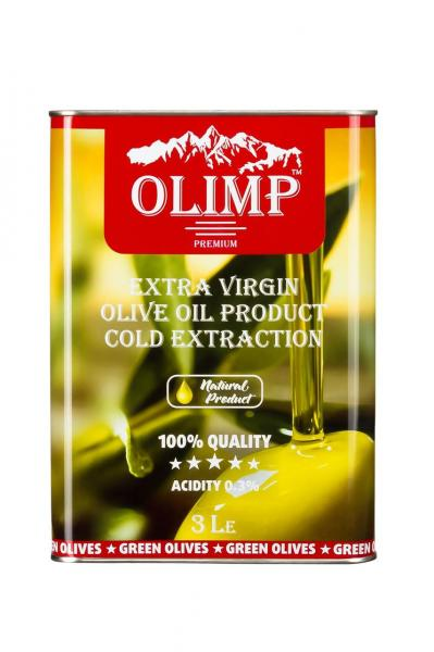 Оливковое масло EXTRA VIRGIN OLIVE OIL Olimp Red Label 3 л.