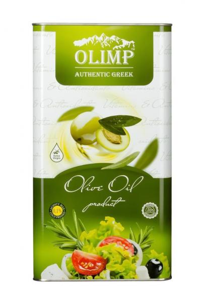 Оливковое масло EXTRA VIRGIN OLIVE OIL Olimp ECO-LIFE 5 л.