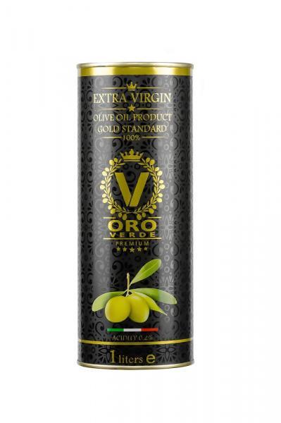 Оливковое масло EXTRA VIRGIN OLIVE OIL  Oro Verde Premium 1 л.