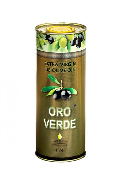 Оливковое масло EXTRA VIRGIN OLIVE OIL  Oro Verde Gold 1 л.
