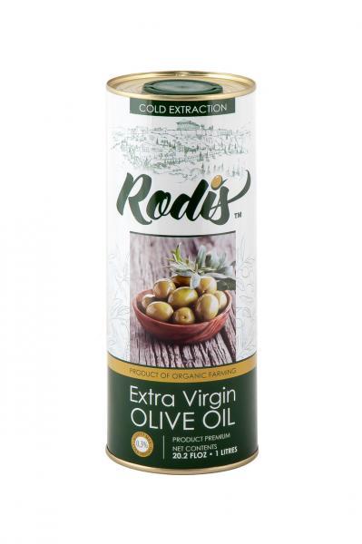 Оливковое масло EXTRA VIRGIN OLIVE OIL  Rodis 1 л.