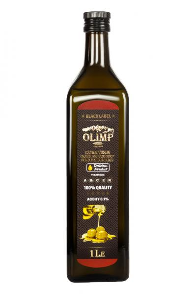 Оливковое масло EXTRA VIRGIN OLIVE OIL Olimp Black Label 1 л.