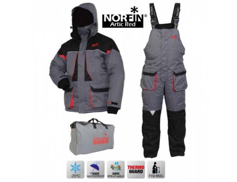 Фото Одежда, обувь для охоты и рыбалки, Зимняя одежда  Костюм зимний Norfin Arctic Red (-25°) (XS - XXXXL)