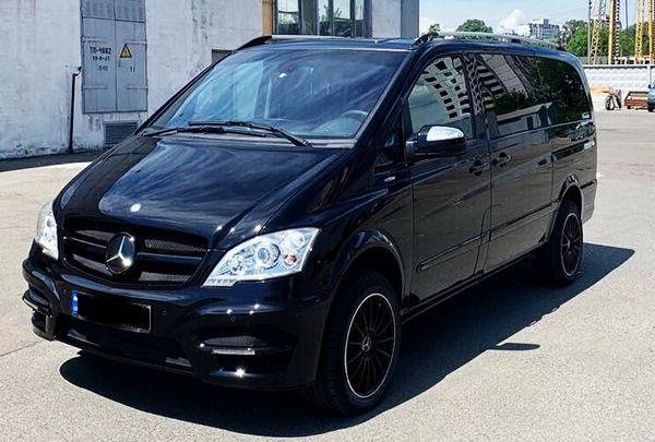 Микроавтобус Mercedes Viano заказать