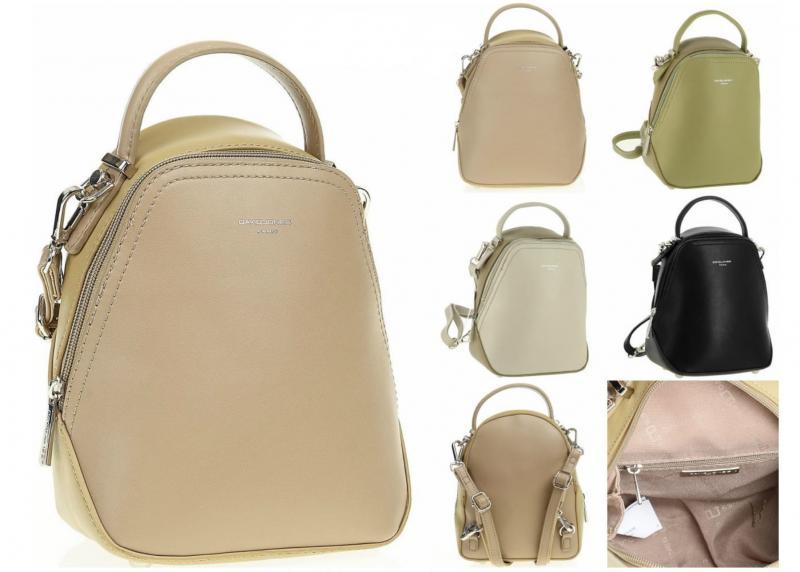 Фото Рюкзаки , Модные женские рюкзаки Рюкзак из экокожи David Jones