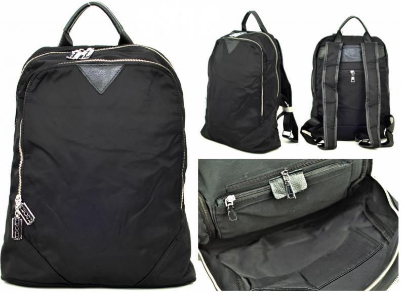 Рюкзак из экокожи и текстиля Aga 6710