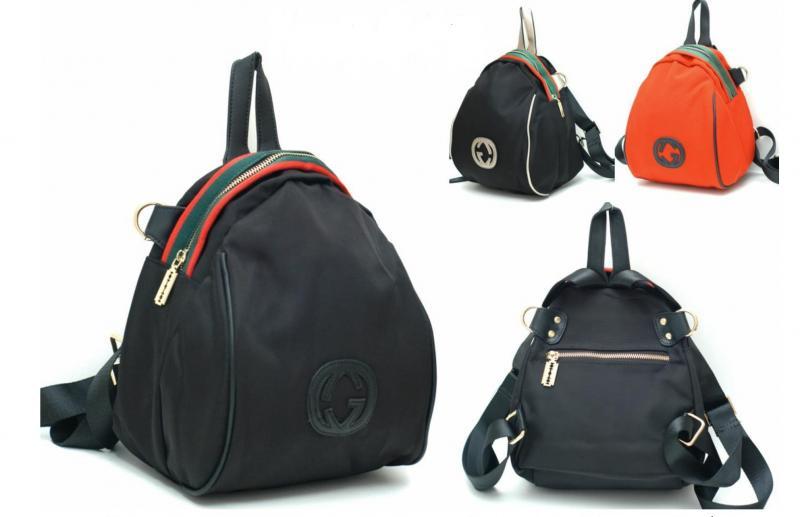 Сумка-рюкзак из текстиля