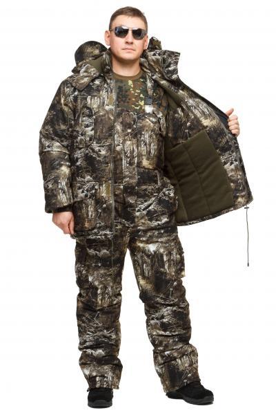 Фото Одежда для рыбаков и охотников, ТЕПЛЫЙ ЗИМНИЙ КОСТЮМ ДЛЯ ОХОТЫ И РЫБАЛКИ ИЗ НЕПРОМОКАЕМОЙ ТКАНИ ALOVA
