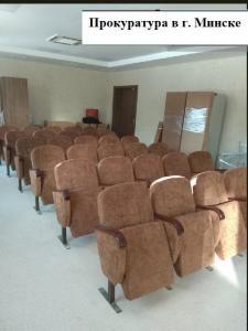 Фото НАШИ  РАБОТЫ Наши работы: кресла для актовых залов