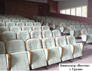 Фото НАШИ  РАБОТЫ Наши работы: кресла для театров и кинотеатров