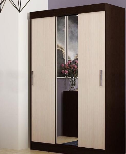 Фото Шкафы, шкафы-купе, пеналы  Бася шкаф-купе 1,3м (Миф)