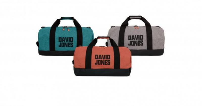 Сумка из экокожи и текстиля спортивная  David Jones