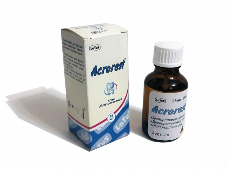 Acrorest (Акрорест) клей дихлорэтановый 25г. (Latus)