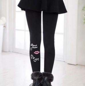 Фото Джинсы, лосины, штаны Лосины-колготы на меху 8-12лет