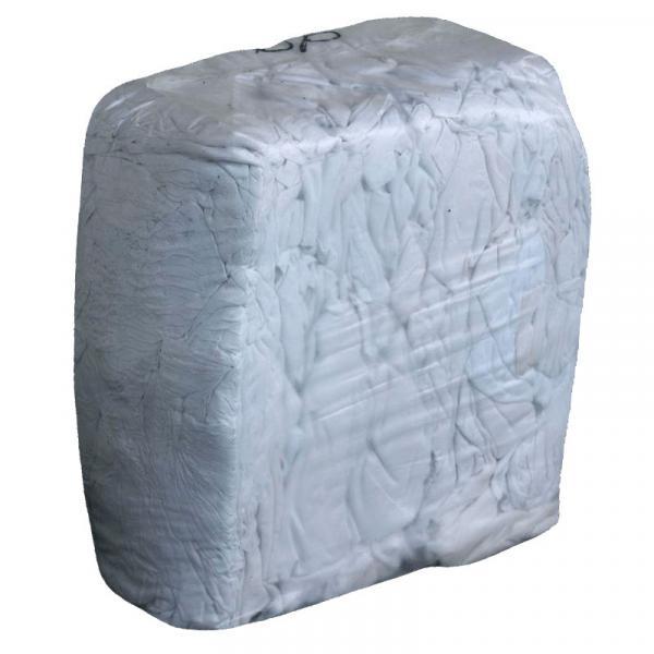 Ветошь из хлопка, белая и цветная, 10 кг/уп (цены см. подробнее)