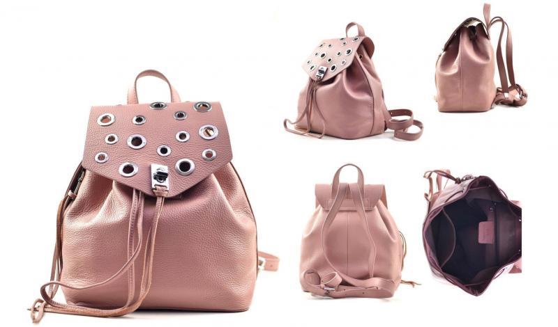 Рюкзак из кожи Polina&Eiterou