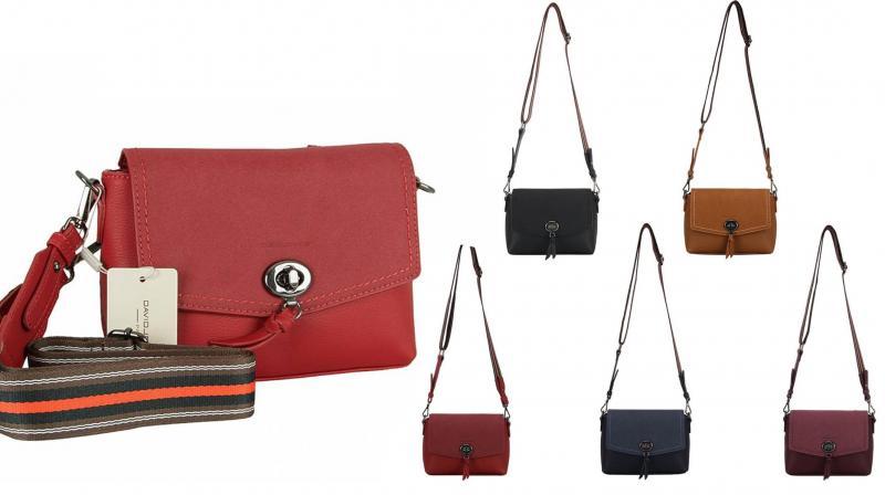 Фото Женские сумки, Оригинальные через плечо. Экокожа и комбинированные Сумка из экокожи David Jones