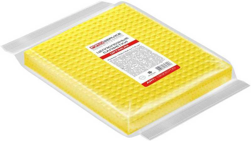 """Салфетки губчатые (упаковка) целлюлозные """"PRO service"""" 10 шт/уп для влажн. уборки"""