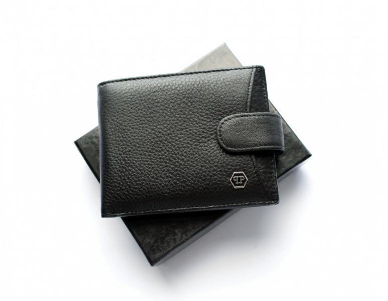 Мужской кошелек Philipp Plein 05 черный