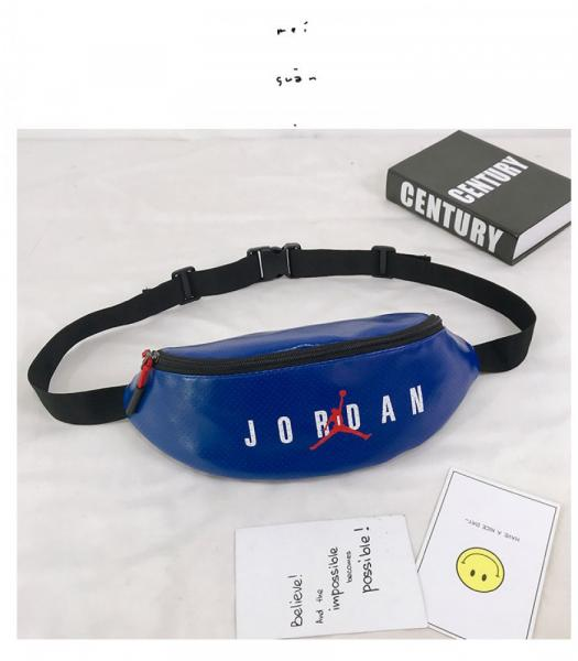 Поясная сумка, бананка Jordan Blue