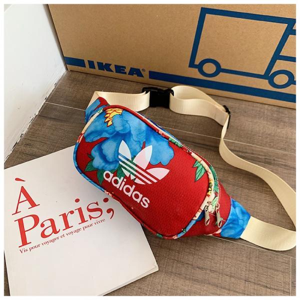 Поясная сумка, бананка adidas originals flower