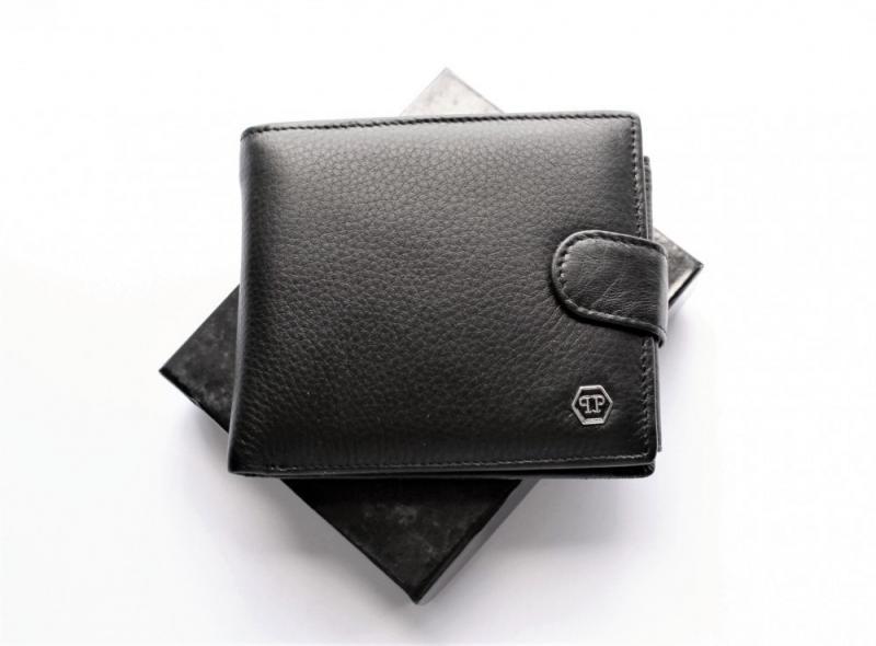 Мужской кошелек Philipp Plein 06 черный