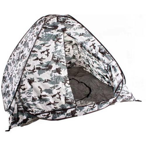 Палатка для зимней рыбалки 2х2 (белый комуфляж)