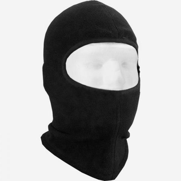 Балаклава маска флисовая ( Черная )