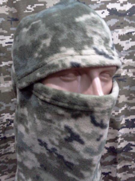 Балаклава маска флисовая ( пиксель )