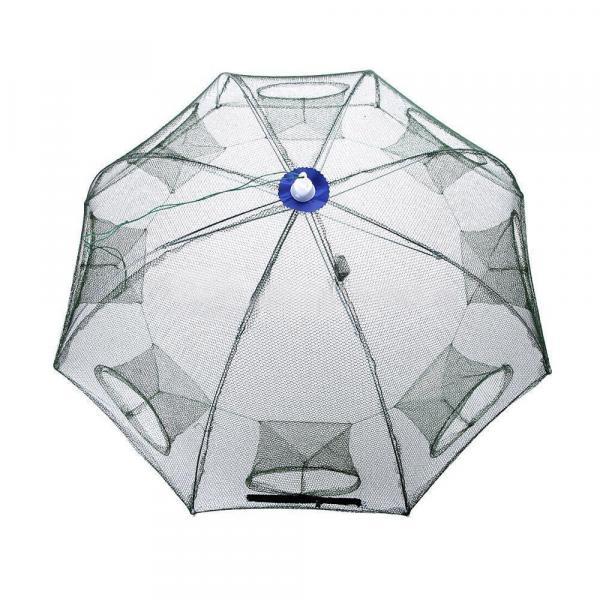 8 входов. Зонт. Восьмигранник, ловушка для