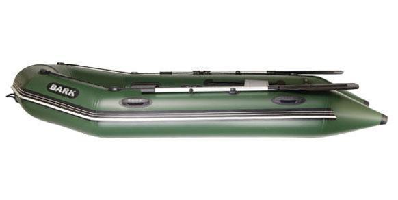 ЛОДКА BARK 390S шестиместн,моторная,килевая,сплошной настил,