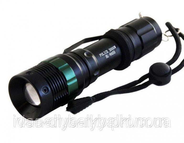 Фонарик ручной аккумуляторный Police BL-8455