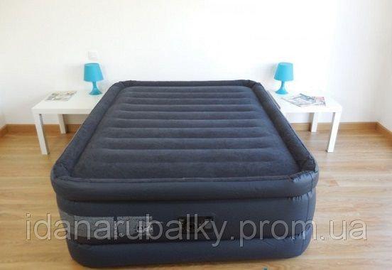 Велюровая надувная кровать Intex 64440